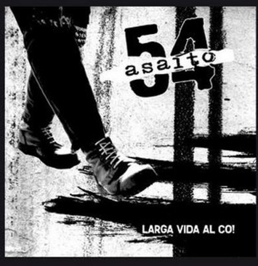 Asalto 54 ‎– Larga Vida Al Co! / CD