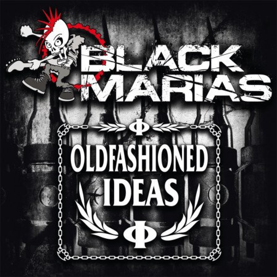 """The Black Marias / Oldfashioned Ideas """"Spit"""" / 7'inch"""