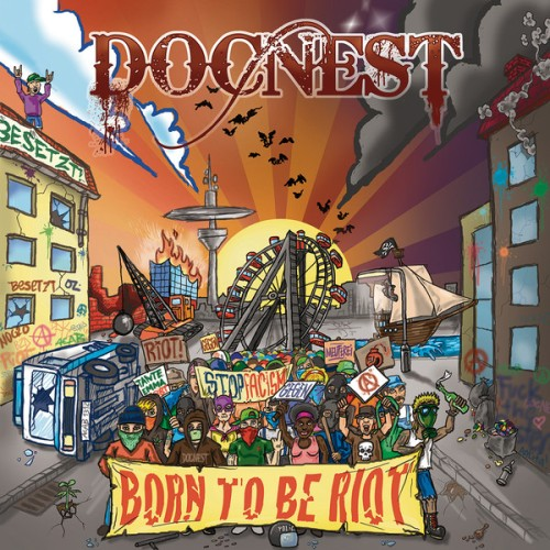 DocNest ‎– Born To Be Riot / LP