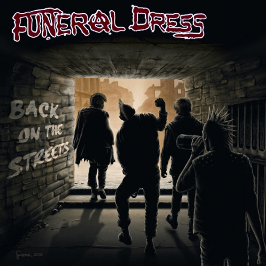 Funeral Dress ‎– Back On The Streets / 7'inch