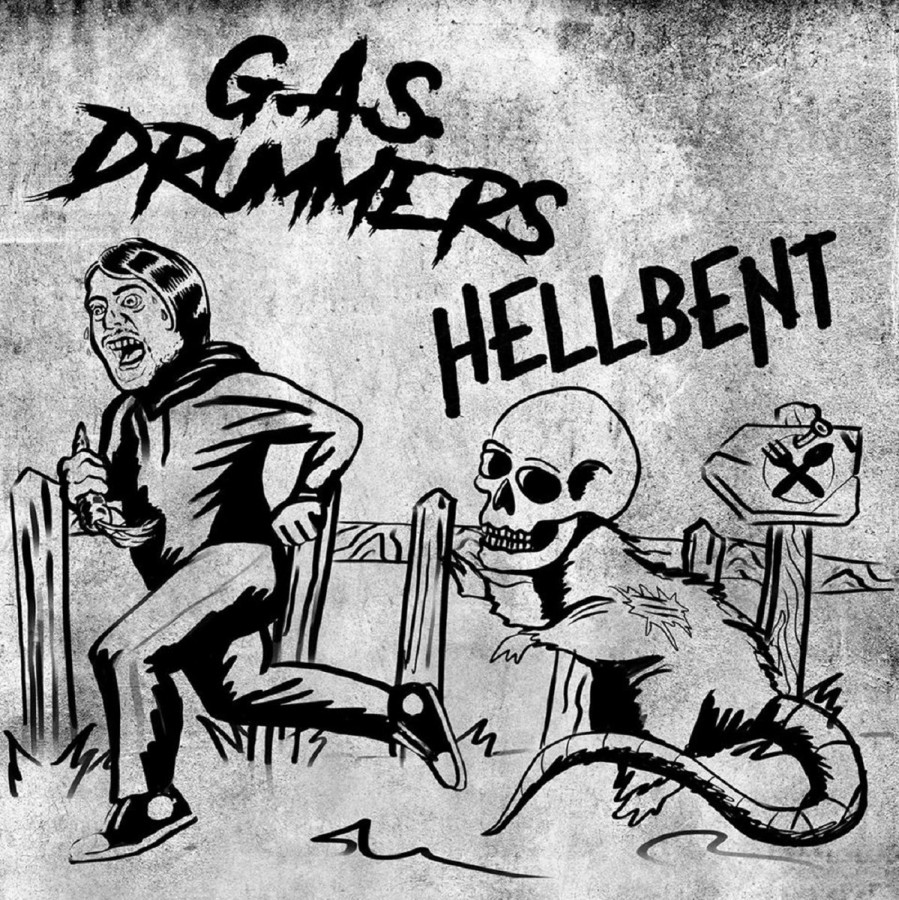 G​​.​​A​​.​​S. Drummers / Hellbent Split EP / 7'inch