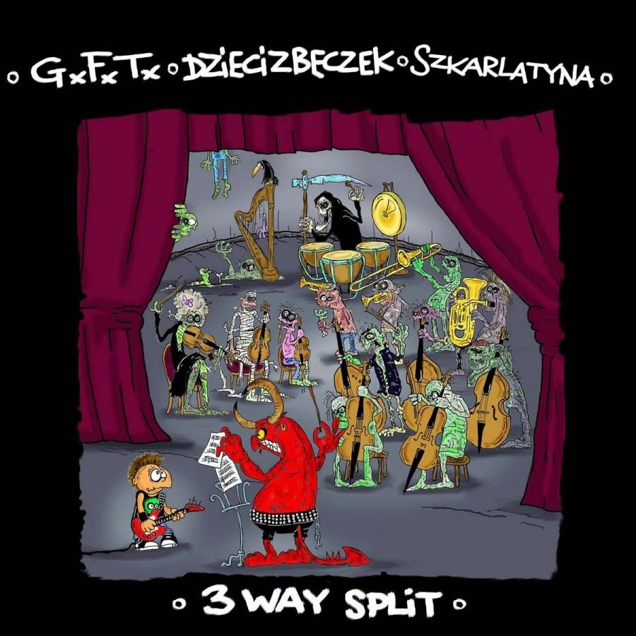 """GxFxTx / DZIECI z BECZEK / SKARLATYNA """"3 way """" / CD"""