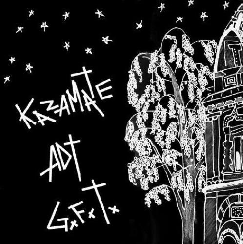 """Kazamate / A.D.T / GxFxTx """"Split"""" / CD"""