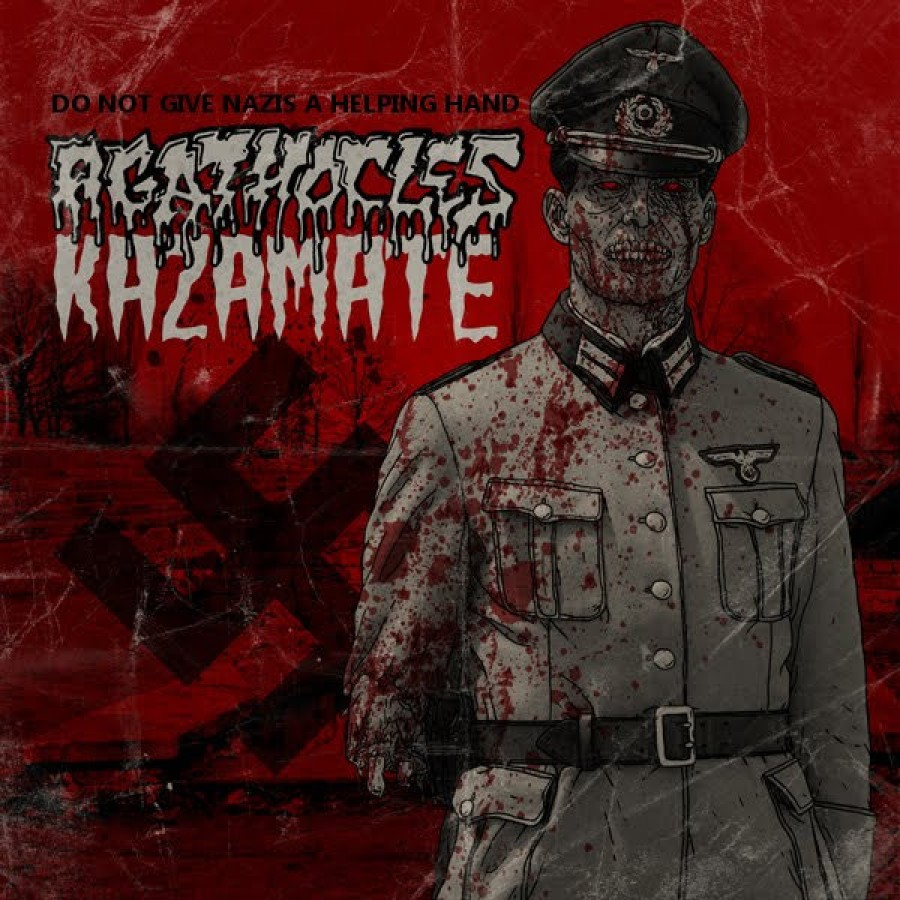 "Kazamate / Agathocles ""Do not give Nazis a helping hand"" / CD"