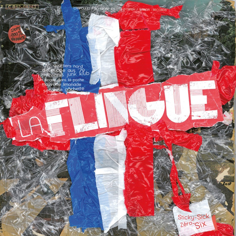 La Flingue ‎– Sticky-Sick Zéro-Six / LP