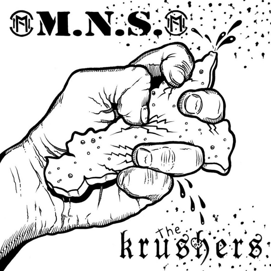 M​.​N​.​S. / The KRUSHERS split / EP / 7'inch