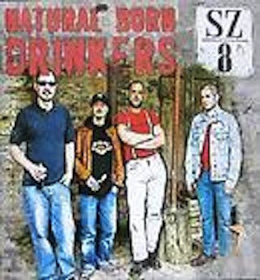 Natural Born Drinkers ‎– SZ/8 / CD