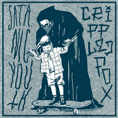 Satanic Youth, Crippled Fox – Satanic Youth / Crippled Fox split / 7'inch