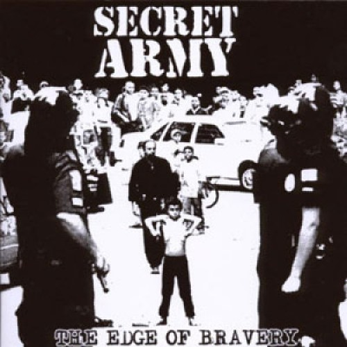 Secret Army ‎– The Edge Of Bravery / CD