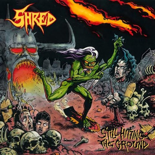 "SHRED ""Still hitting the groung"" / LP"