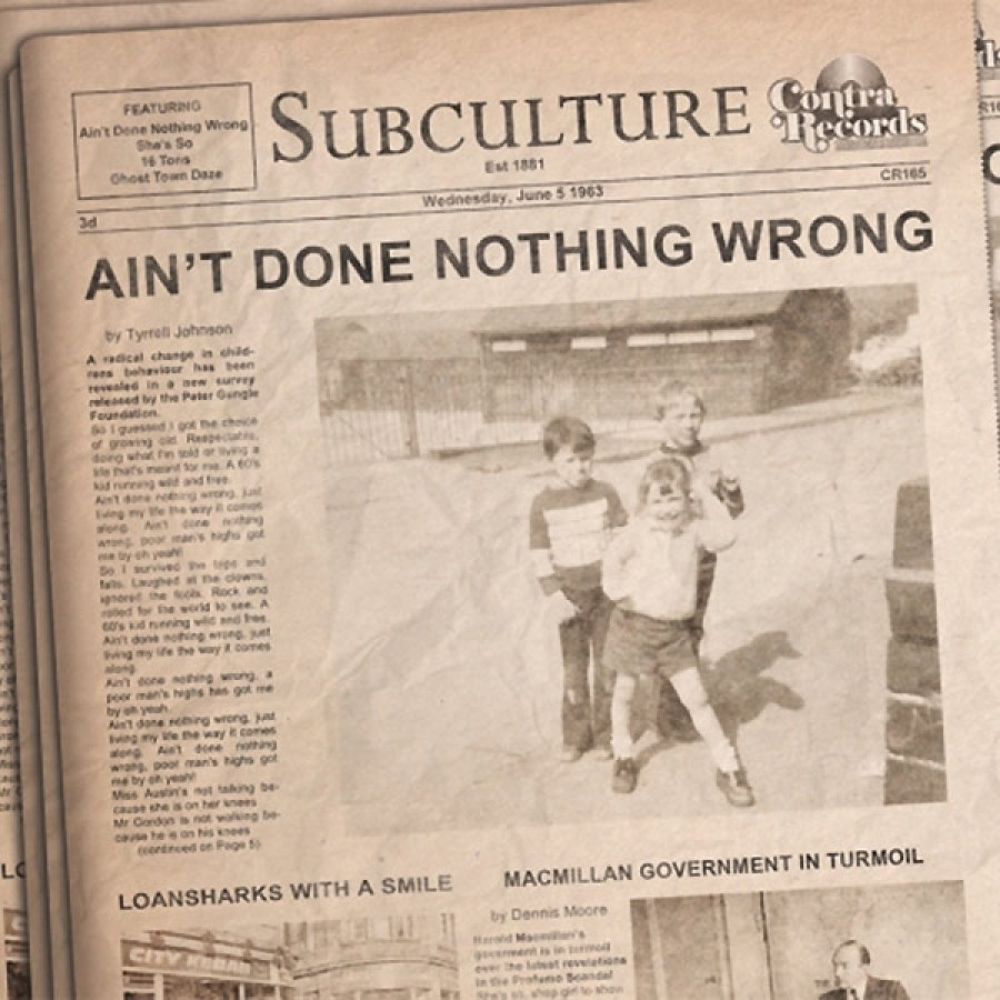 Subculture ‎– Ain't Done Nothing Wrong / 7'inch