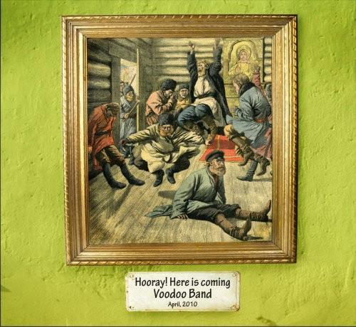 Voodoo Band – Hooray! Here Is Coming Voodoo Band / CD